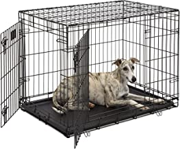 Life Stages LS-1636DD Double Door Folding Crate for Intermediate Dogs(41 - 70lbs)