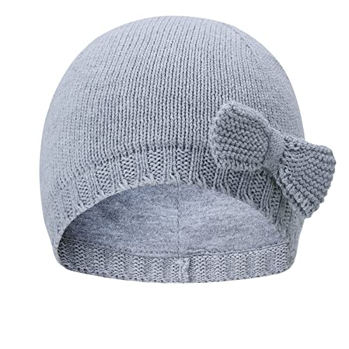 eec6335e926 vivobiniya Baby Hats Toddler Baby Girl Lovely Bowknot Knit Hats Baby Hats