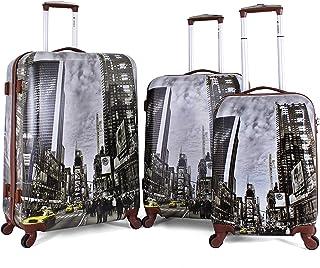 Sonada Luggage Trolley Bags for Unisex, 3 Piece, Multi Color97325