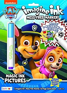 Paw Patrol Imagine Ink Magic Ink Coloring Book 47089