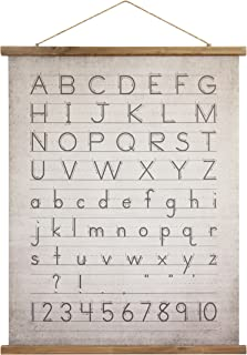 Creative Co-Op Alphabet & Numbers Wall Décor