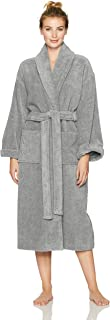 Pinzon Terry Bathrobe 100% Cotton, Platinum, Large / X-Large