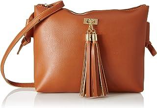 Envias Women's Sling Bag (EVS-038_Brown)