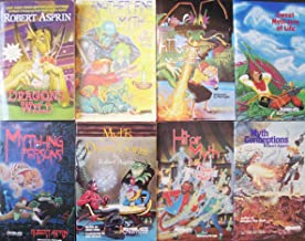 Robert Asprin Combo Pack (8 BOOKS); Dragons Wild [2008], Another Fine Myth [1978], Little Myth Marker [1985], Sweet Myth-tery of Life [1994], Myth-ing Persons [1984], Myth Directions [1982], Hit or Myth [1983], & Myth Conceptions [1981]
