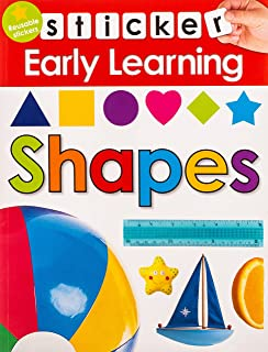 Sticker Early Learning: Shapes: With Reusable Stickers