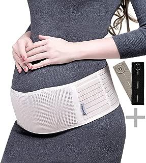 KAZOGU Cintur/ón de Soporte Postparto Hueco Transpirable Cintur/ón de Ajuste Cintur/ón Vendaje Adelgazante Ligero para posparto