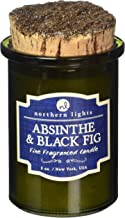 Northern Lights Candles Absinthe & Black Fig Fragranced Candle, 5 oz, Olive