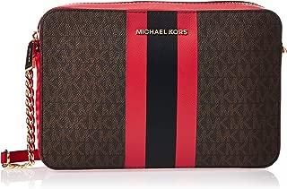 Michael Kors Womens Handbag, Brn/Brt Red - 32F9Gj6C3B