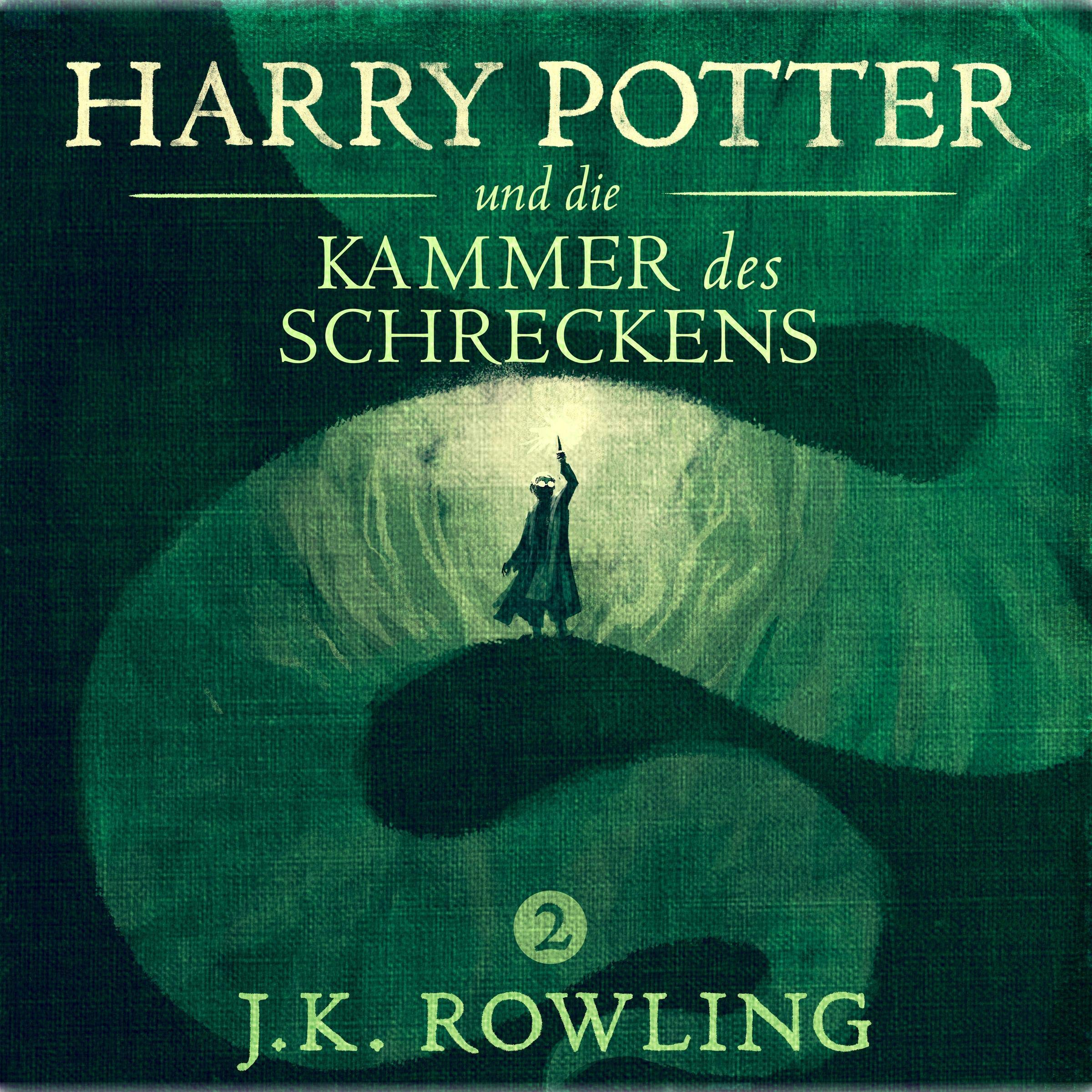 Coverbild von Harry Potter und die Kammer des Schreckens, von J.K. Rowling