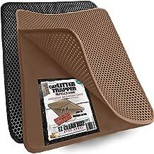 iPrimio Cat Litter Trapper Litter Mat, EZ Clean Cat Mat, Litter Box Mat Water Proof Layer and Puppy Pad Option. Patented (23