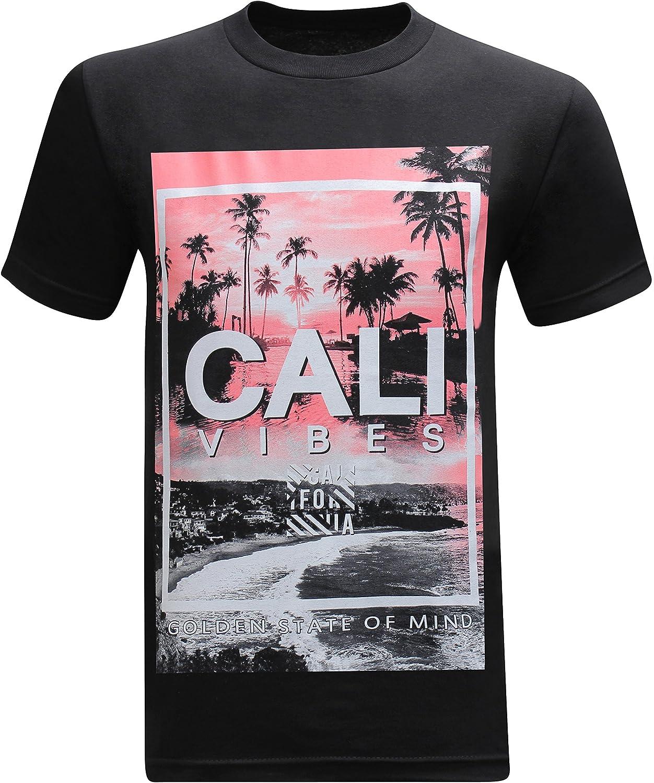 California Republic Cali Vibes Golden State of Mind Men's T-Shirt