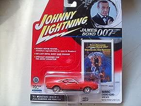 Johnny Lightning James Bond Diamonds Are Forever 1971 Mustang Mach 1