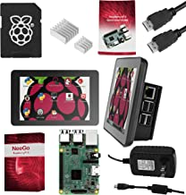 """NEEGO Raspberry Pi 3 Ultimate Starter Kit – Complete Set Includes Raspberry Pi 3 Model B Motherboard, 7"""" Touchscreen Display, Power Supply, 16GB SD Card, 2 Heatsinks, Official Case & 6ft HDMI Cable"""