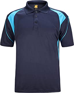 Men's Quick-Dry Short Sleeve Polo Sport Shirts