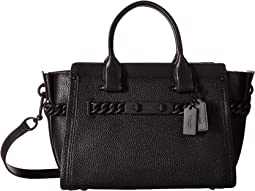 COACH - Id Pebbled Leather Swagger 27