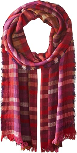 Echo Design Bright Stripes Wrap Scarf