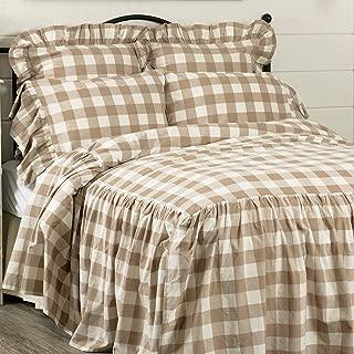 Piper Classics Rebecca Skirted Bedspread, Queen Size w/ 27