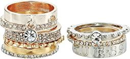 Nine-Piece Band Stacker Set Ring