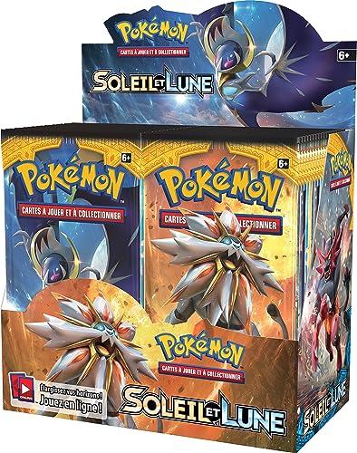 Asmodee posl102disco Booster Pokémon Sonne und Mond 1 Verkaufsst er