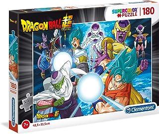 Clementoni- Supercolor Puzzle-Dragon Ball Super-180 pièces- 29762