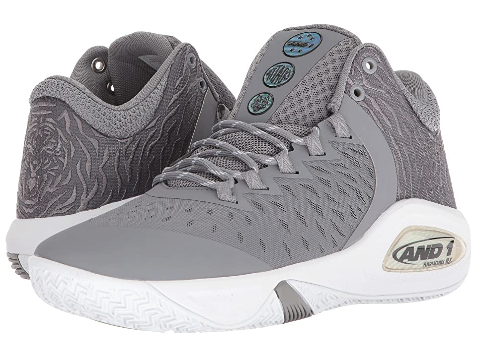 AND1 Attack Mid (Alloy/Super Foil/White) Men