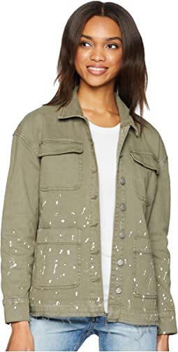 Easel Long Cargo Jacket