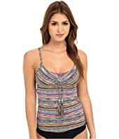 Lucky Brand - Arabian Night Tankini Top