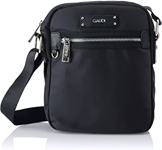 (Black) - Gaudi Men's Bside Shoulder Bag