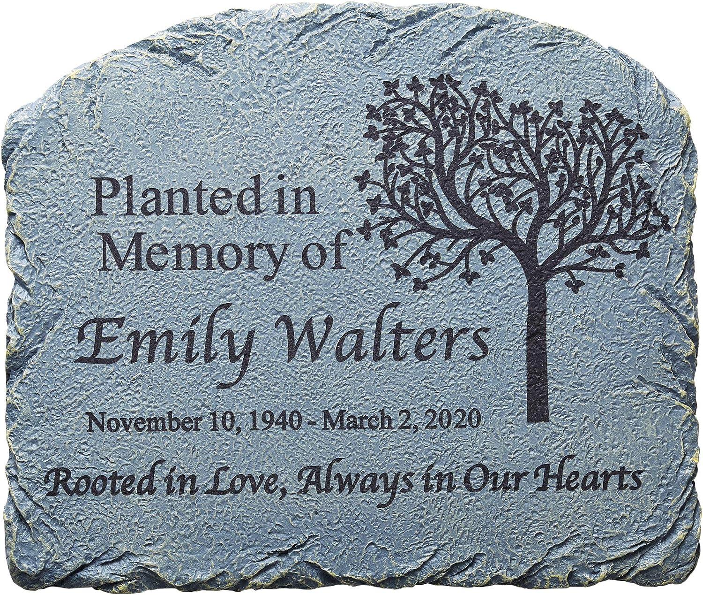 Lets Make Memories Memories Bloomed Sympathy Garden Stone
