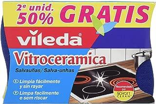Vileda - Salvauñas Vitroceramica Duplo - [Pack de 4]: Amazon ...