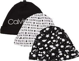Calvin Klein baby-boys Unisex Hat, Multipack Winter Accessory Set