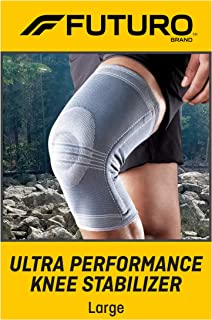Best FUTURO-48191EN Ultra Performance Knee Stabilizer, Breathable, Large - Gray Review
