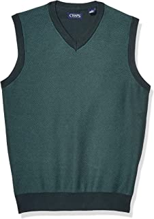 Men's Cotton V-Neck Sweater Vest