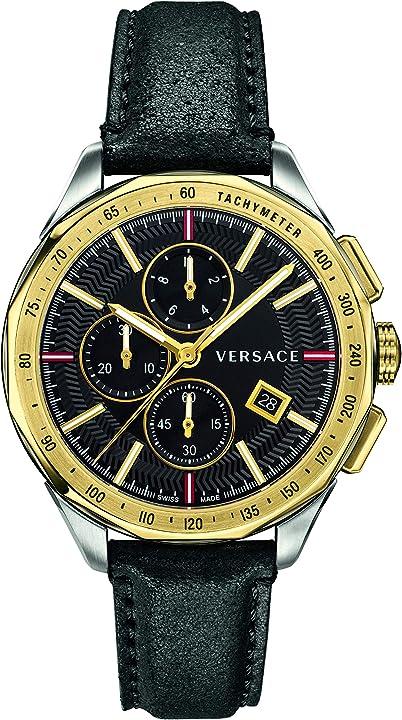 orologio versace vebj00218 glaze mens watch chronograph