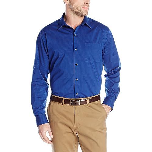 e45ec898a463 Van Heusen Men s Traveler Stretch Non Iron Long Sleeve Shirt