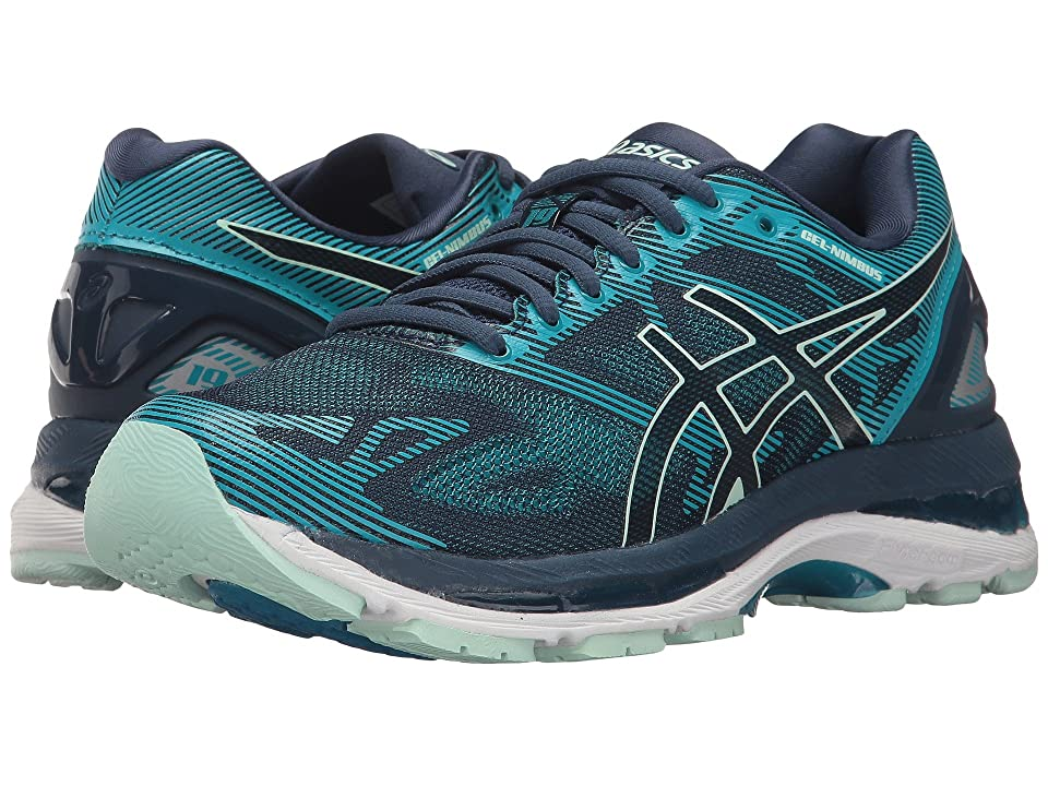 ASICS GEL-Nimbus(r) 19 (Insignia Blue/Glacier Sea/Crystal Blue) Women