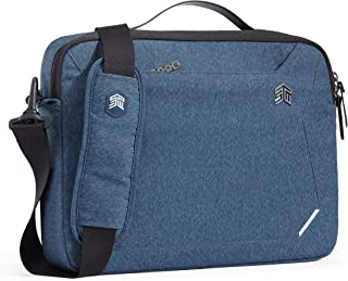 "STM Myth Fleece-Lined Brief Case with Removable Strap for 13"" Laptop - Slate Blue (stm-117-185M-02)"