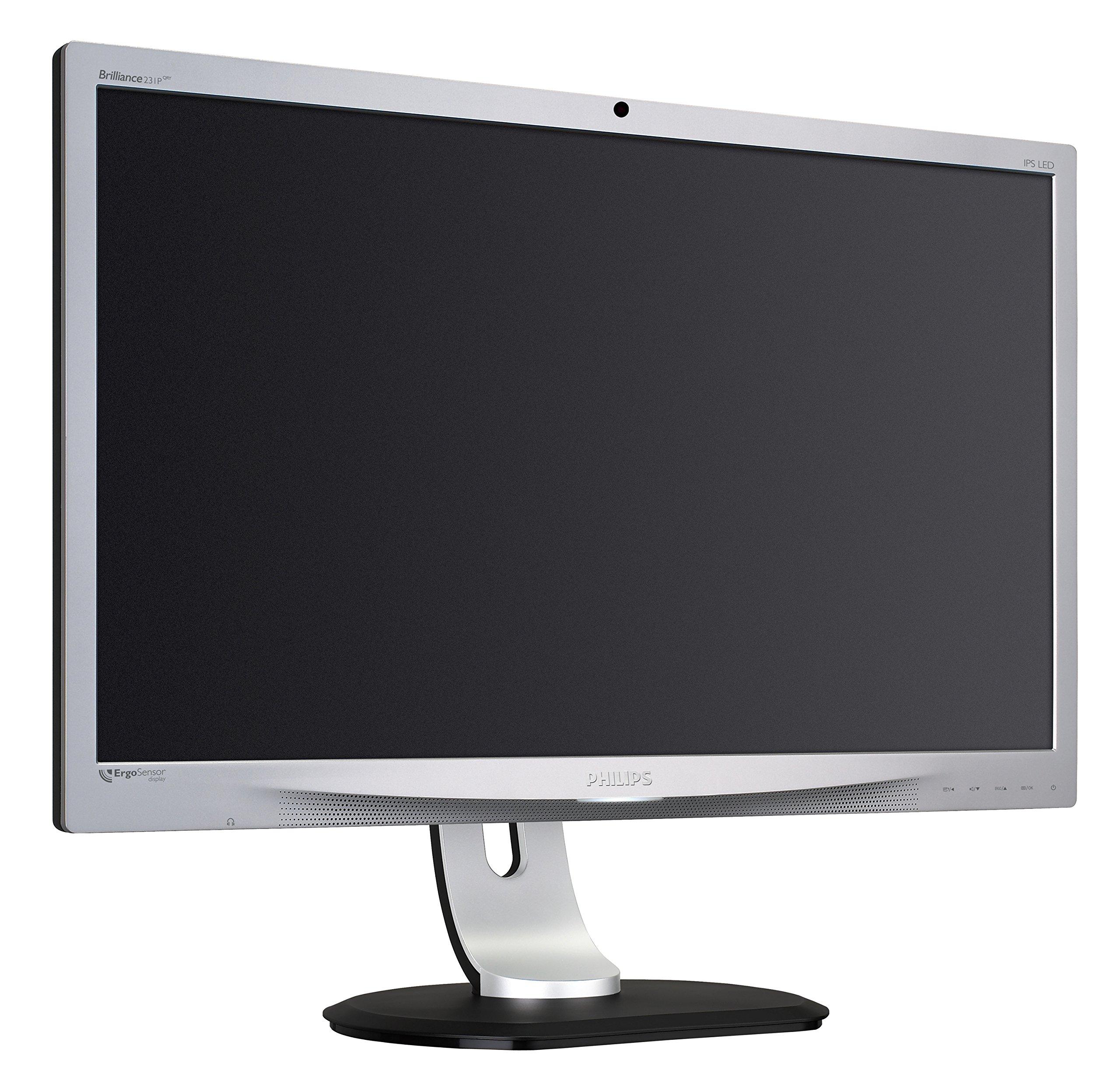 Philips Brilliance - Monitor (retroiluminación LED 231P4QRYES/00, 58,4 cm (23