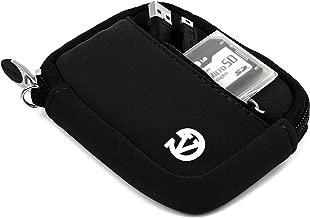 VanGoddy Mini Glove Neoprene Sleeve for Panasonic Lumix DMC TS30 Digital Cameras (Black)