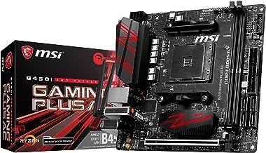 MSI Performance Gaming AMD Ryzen 1st and 2nd Gen AM4 M.2 USB 3 DDR4 HDMI Display Port Mini-ITX Motherboard (B450I GAMING P...