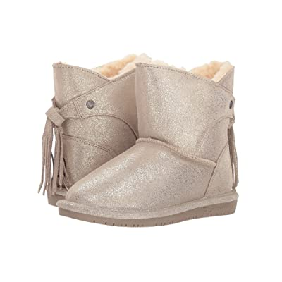 Bearpaw Kids Mia (Little Kid/Big Kid) (Pewter) Girls Shoes