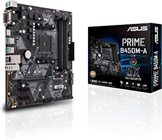 لوحة رئيسية Asus Prime B450M-A/CSM AMD Ryzen 2 AM4 DDR4 HDMI DVI VGA M.2 USB 3.1 Gen2