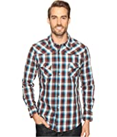 Rock and Roll Cowboy - Long Sleeve Snap B2S8401