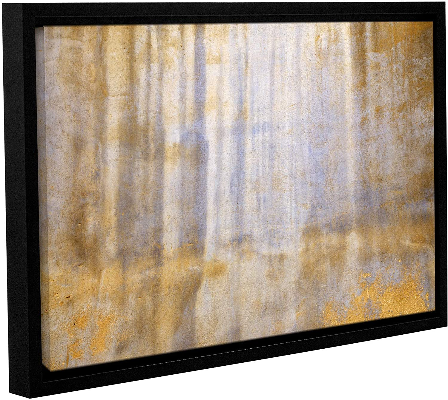 National uniform free shipping ArtWall Super-cheap Cora Niele's ' Weathered Stucco' Gallery Wrapped Floater