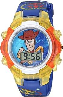 Disney Quartz Watch with Plastic Strap, Black, 14.75 (Model: TYM4030)