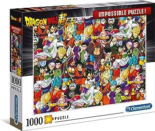 Clementoni Impossible Puzzle-Dragon Ball-1000 pièces, 39489, Multicolore