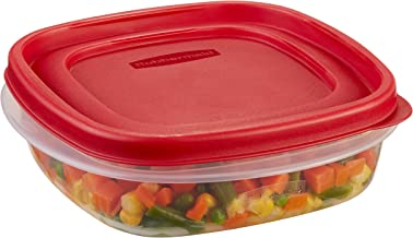 Rubbermaid Easy Find Lid Food Storage Container, 3 Cup
