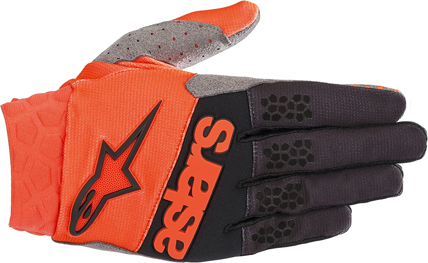 Alpinestars Radar MX Glove Small Orange Black