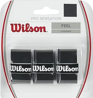 Wilson Raquete de tênis Sensation Pro sobre a aderência