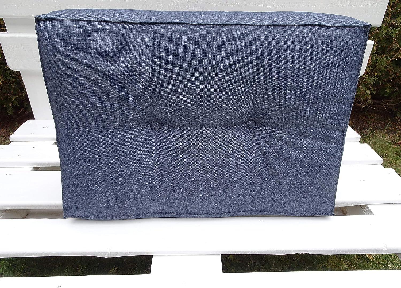 palettenkissen Outdoor Kissen Palettensofa Euro Paletten europalleten sitzkissen Palettenkissen Schaumkissen Blau, 2X teiliges Set sitzkissen palettenm/öbel